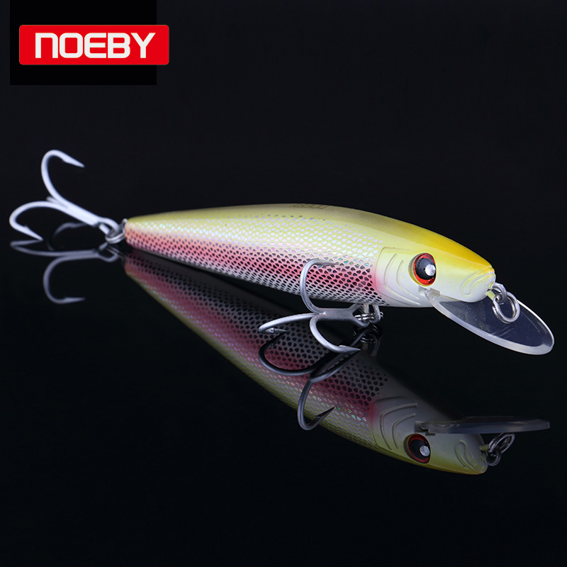 Noeby  1pcs Quality Floating Minnow Hard Bait 18cm 67g Floating Minnnow Lure Sea Bass Tackle Floating 0-2.5m wldslure 1pc 54g minnow sea fishing crankbait bass hard bait tuna lures wobbler trolling lure treble hook
