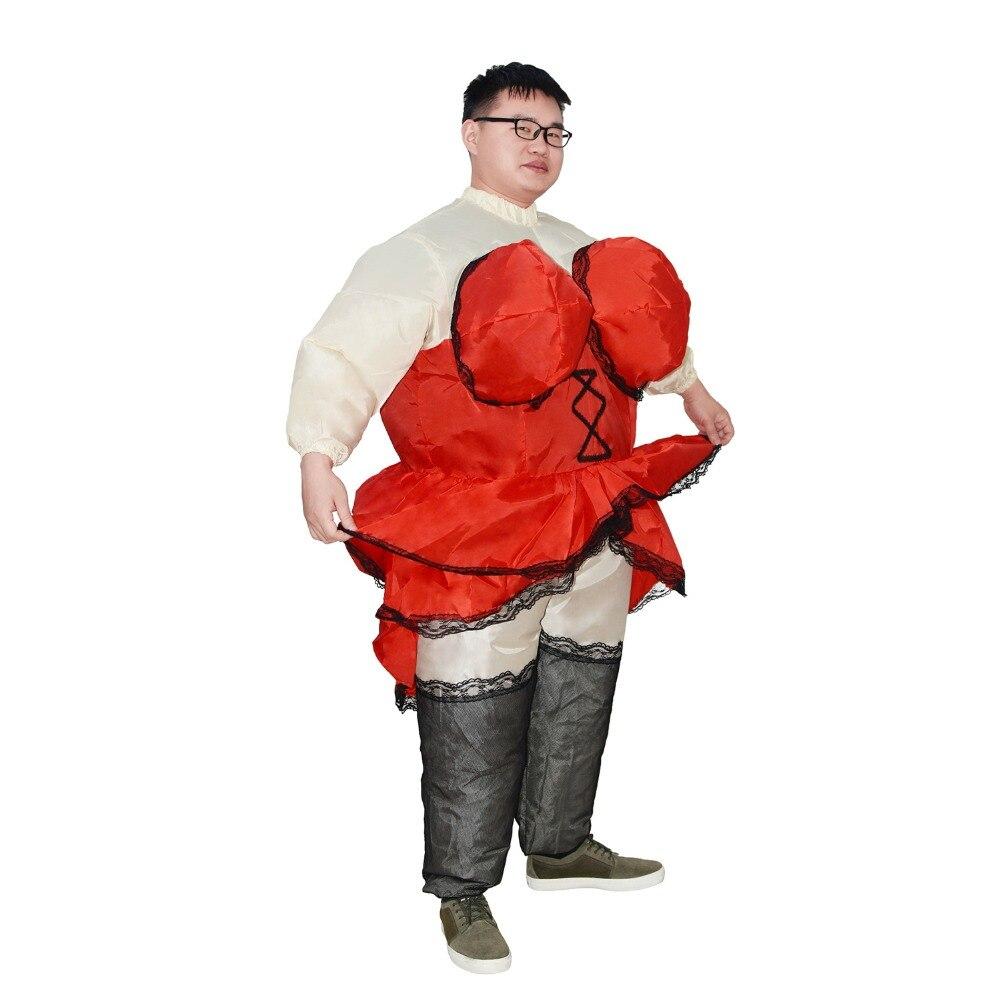 Inflatable Costume Barmaid Purim