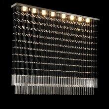 Wysokiej jakości nowoczesne moda kryształowy żyrandol salon jadalnia żyrandol oświetlenie led lampy