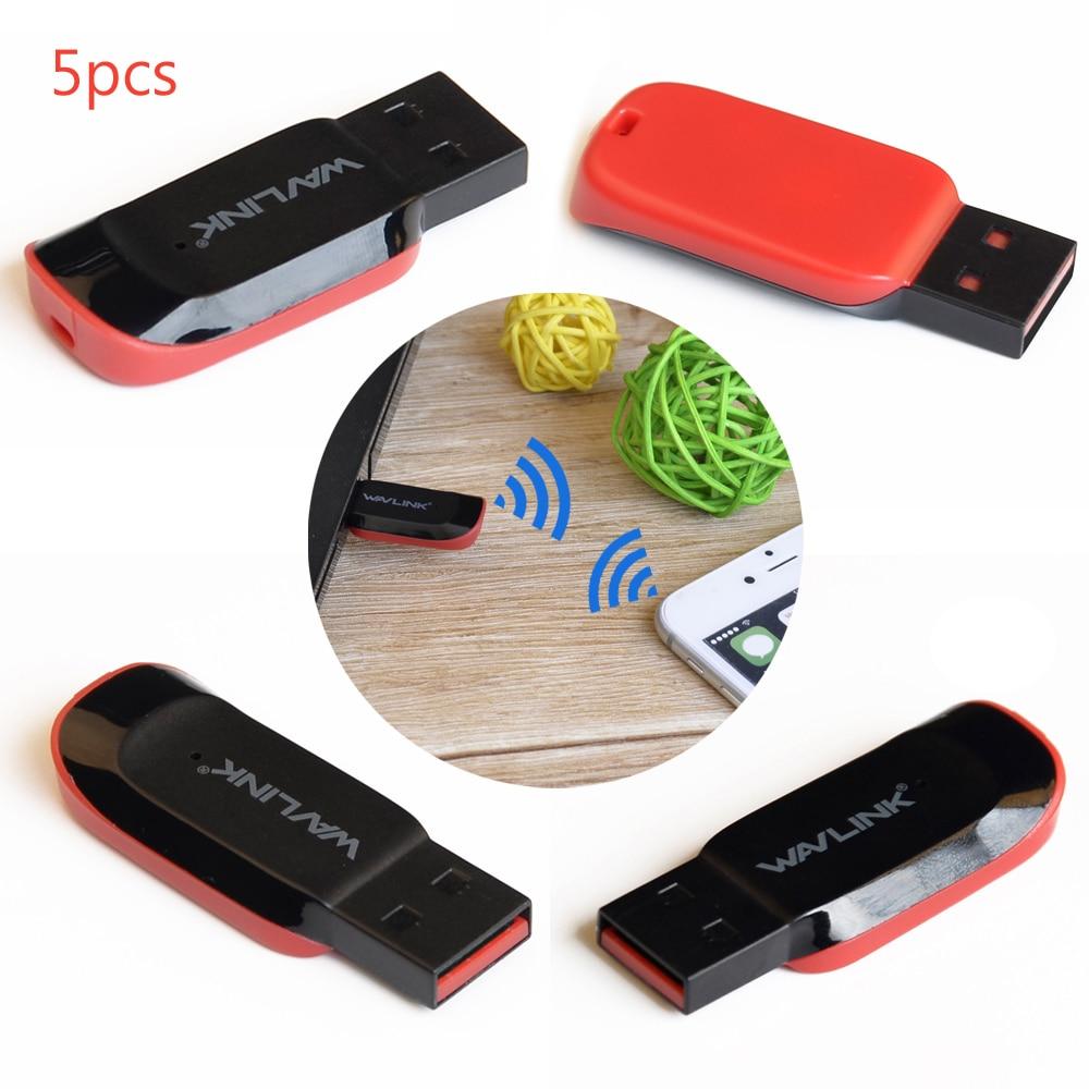 5 Unids Mini PC Wireless WiFi Tarjeta de Red de Adaptador 150 Mbps 802.11n/g/b P