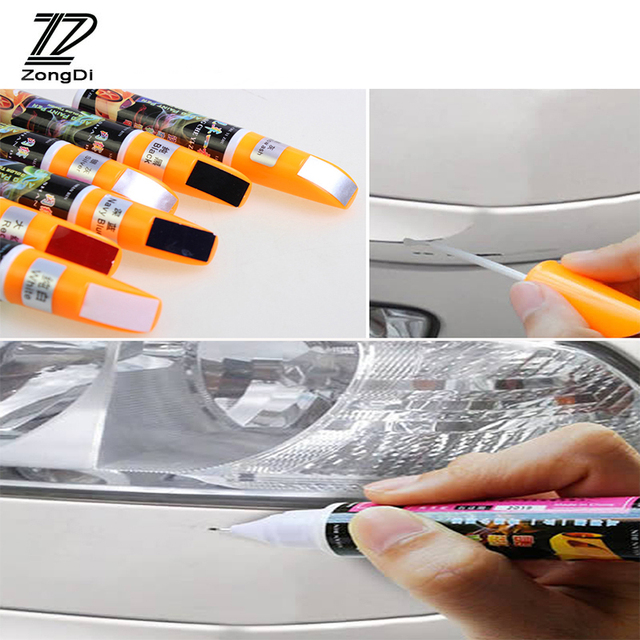 ZD 1Pcs For Hyundai Tucson 2017 Solaris ix35 i30 Suzuki Swift Mitsubish ASX Mazda 3 6 Car Paint Scratches Repair Pen Tools Cover