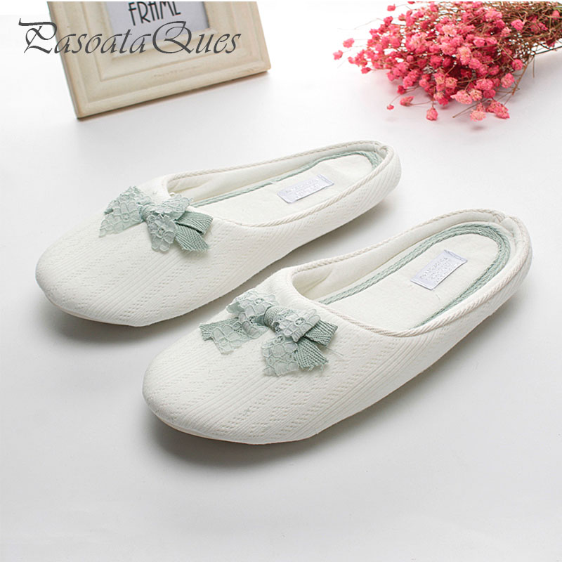 New Fashion Spring Summer Cute Women Slippers Cotton Home House Bedroom Indoor Women Shoes