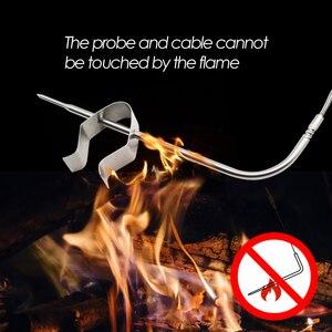 Image 4 - Inkbird מרחוק אלחוטי בית להשתמש RF מדחום IRF 2SA 500 רגליים לבישול מנגל גריל תנור מעשן עם שני מזון כיתה בדיקות