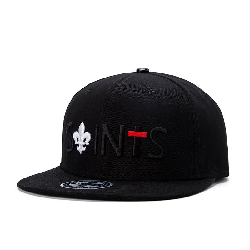 Prix pour 2017 os hip hop snapback chapeaux noir os masculino hip hop casquette de baseball chapeau de coton de haute qualité taille 54-59 cm