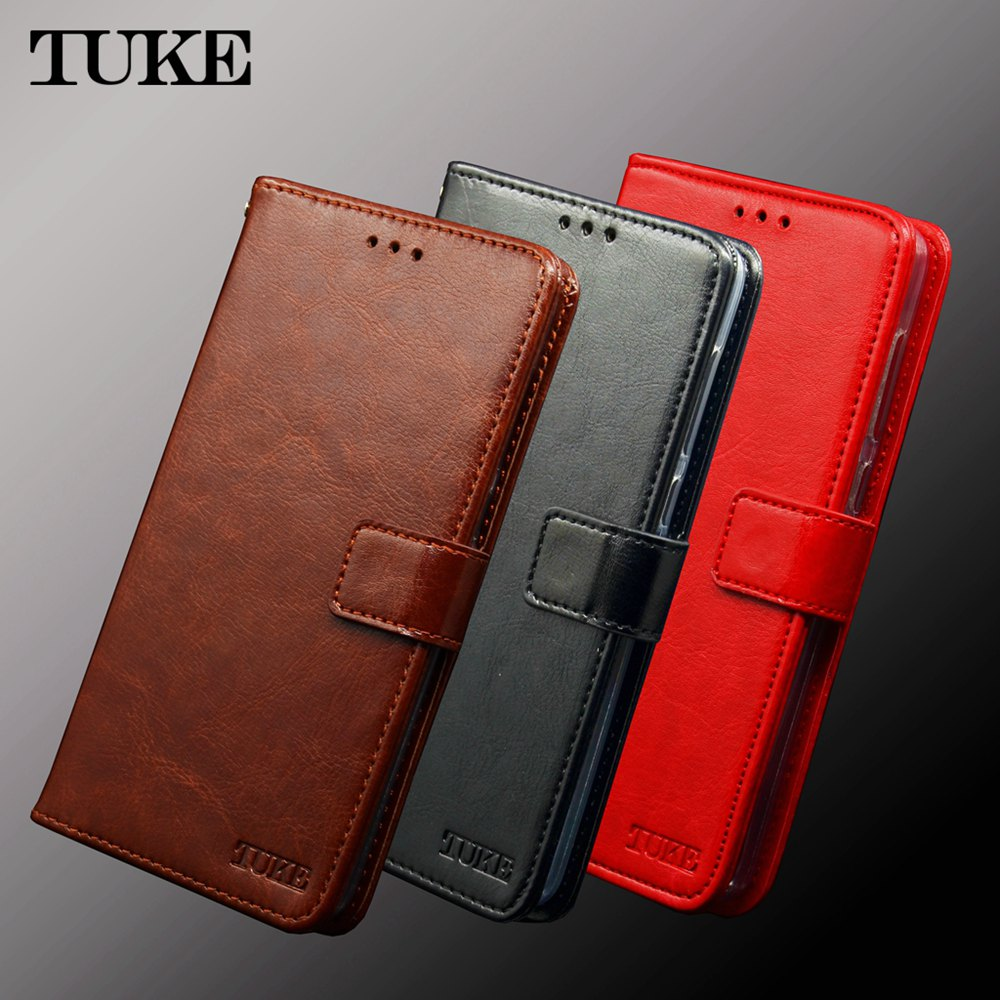 TUKE For <font><b>Nokia</b></font> 6 3.1 <font><b>5.1</b></font> <font><b>Plus</b></font> X5 X6 2018 <font><b>Case</b></font> Flip Leather Back Cover Silicone Funda For Nokia6 TA-1054 TA-1021 TA-1099 TA-1109 image