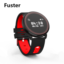 Fuster CF007 Fitness Sport Exercise Tracker Smart Watch Heart Rate Blood Pressure Monitor Smart Band Alarm Clock for IOS Health