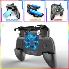 Get more info on the NEW SR2 The Five Generation Mobile Game Controller Shooter Trigger Cooling Fan Mobile Power Game Handle 3 In 1 4000mAh