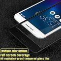 10 unids/lote imak 3d full cobertura pantalla 9 h vidrio templado de cine para asus zenfone 3 max zc520tl protector completo de la pantalla del teléfono