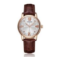 YADAN1589, luxury watches, women's precision waterproof, high-end brand wrist watch, quartz watch, fashion belt casual watch