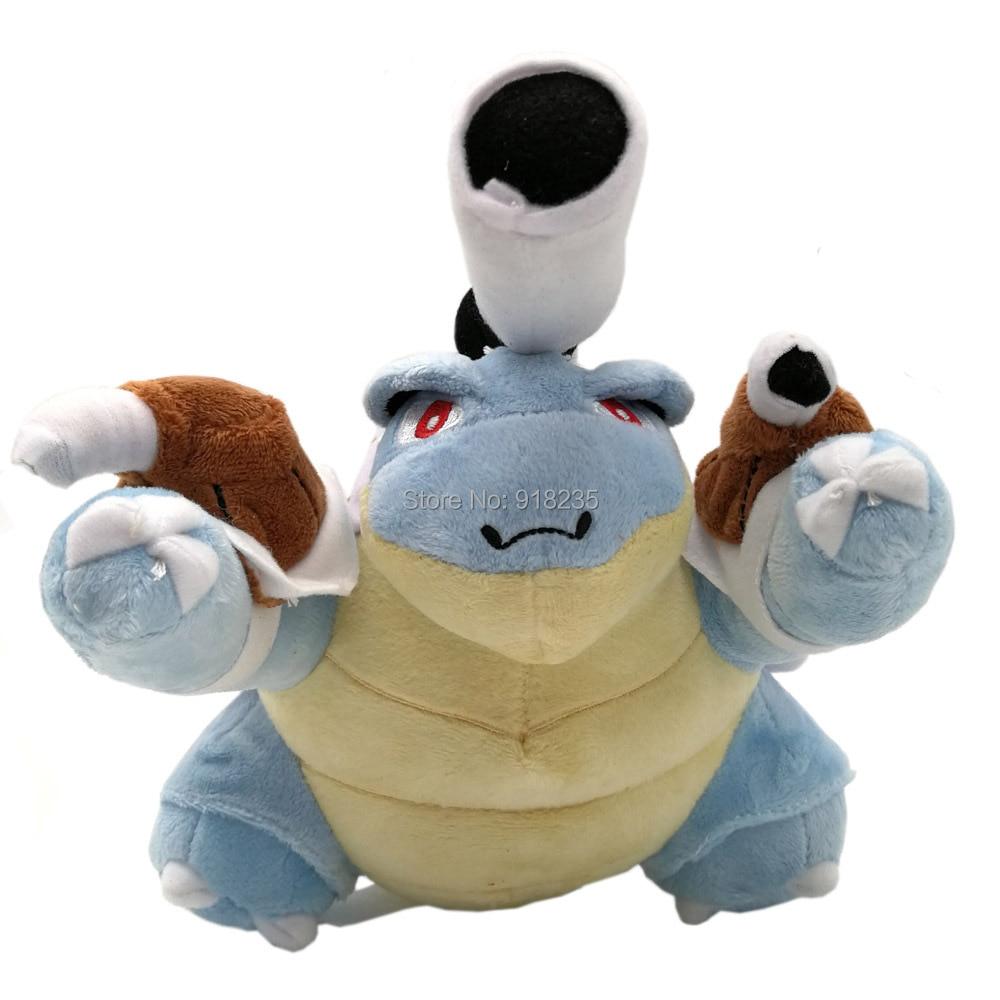 """10/Lot Blastoise 10 """"25 CM pluszowe lalki wypchane zabawki w Filmy i telewizja od Zabawki i hobby na  Grupa 1"""