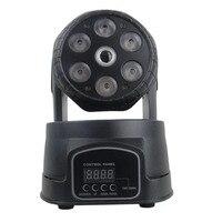 6 x светодио дный 8 Вт мини лазерная светодиодная движущаяся головка для ночного клуба dj вечерние Вечеринка сценический светодио дный эффект