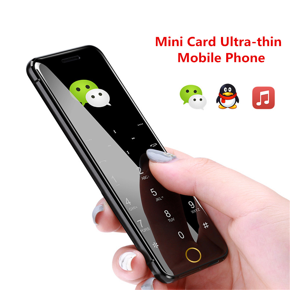 YEPEN N2 Luxury Mini Ultra Thin Metal Body Dual SIM Card Cell Phone With MP3 Bluetooth Dial 1.67