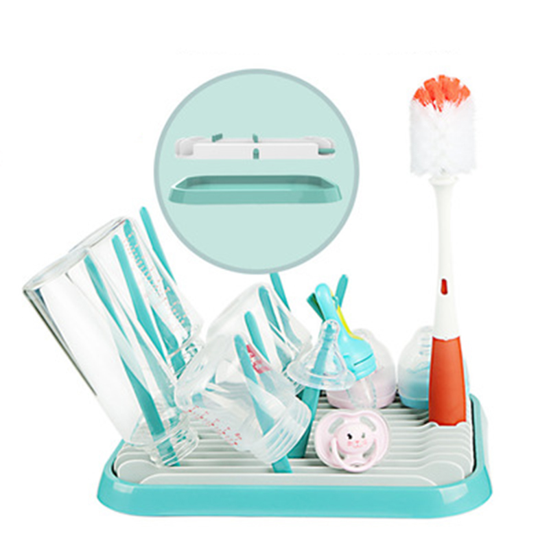 Infant Baby Bottle Drying Rack Baby Bottles Cups Cleaning Dry Storage Holder UK