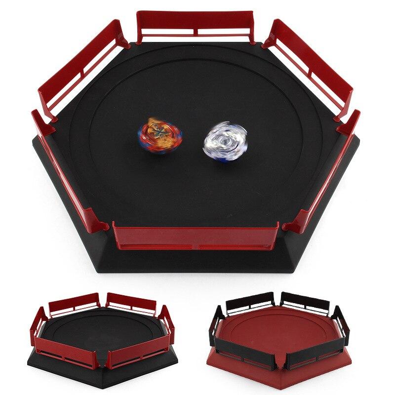 Beyblade Burst Gyro Arena 38*33*7,5 cm disco emocionante Duel Spinning Top Toy accesorios arena Beyblade estadio niños mejores regalos