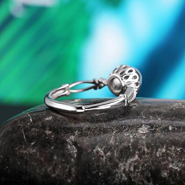 Adjustable Ring - Labradorite - S925 3