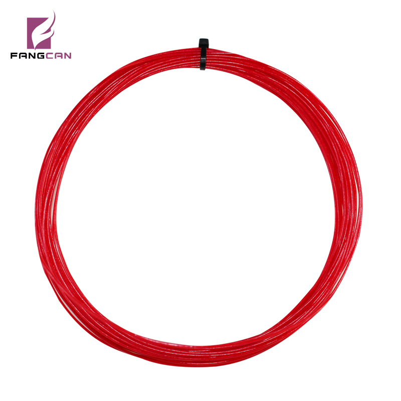 10m / pc FANGCAN TM102 Nylon Squash String para Squash raqueta Color rojo