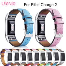 цена на Leather replacement straps For Fitbit Charge 2 smart watch band Interchangeable smart sport Watch band For Fitbit Charge 2 strap