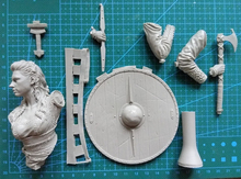 Unpainted Kit  1/10 Shieldmaiden