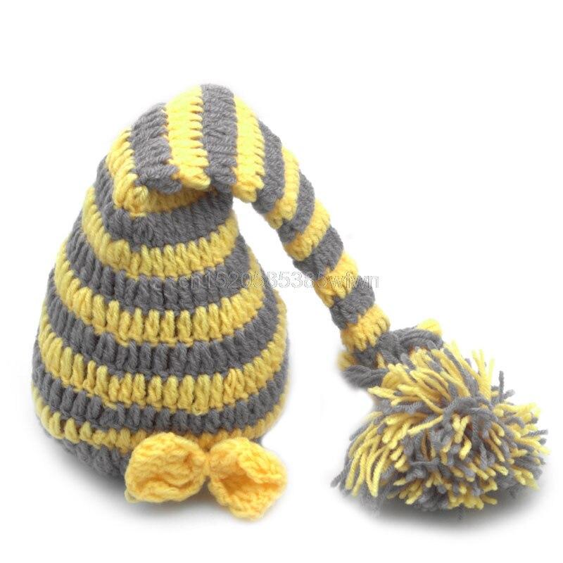 Для новорожденных Обувь для девочек Обувь для мальчиков крючком вязать костюм Фото Опора шляпа, наряды # hc6u # груза падения