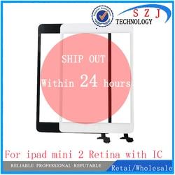 Nowy 7.9 ''calowy Panel dotykowy digitizer dla ipada mini 2 Retina z złącze ic + przycisk Home Flex Tablet PC protection w Ekrany LCD i panele do tabletów od Komputer i biuro na