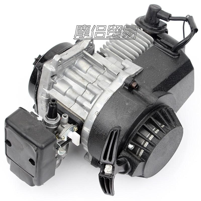 DIY 49cc 2T STROKE ENGINE MOTOR MINI QUAD ROCKET POCKET BIKE Motor Motorcycle Engine timbuk2 rogue carbon fire