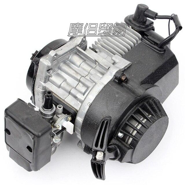 Diy 49cc 2t Stroke Engine Motor Mini Quad Rocket Pocket Bike Motor