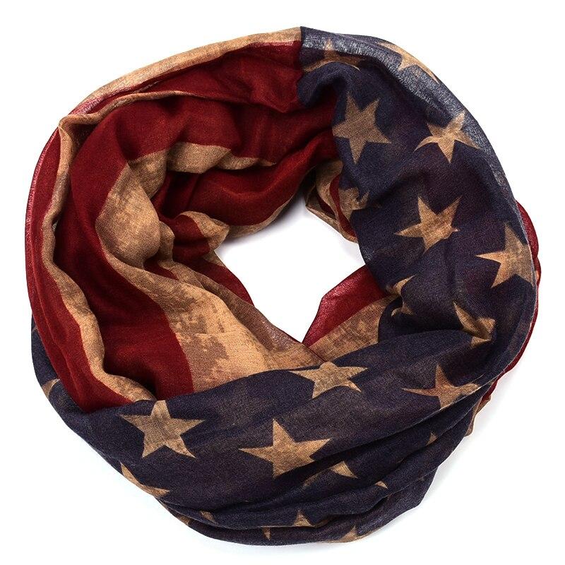 929d2c0169f9 Bandeira americana infinito cachecol echarpes foulard mulheres stripe  estrela mujer bufanda mujer femme fulares poncho outono inverno schal em  Lenços das ...