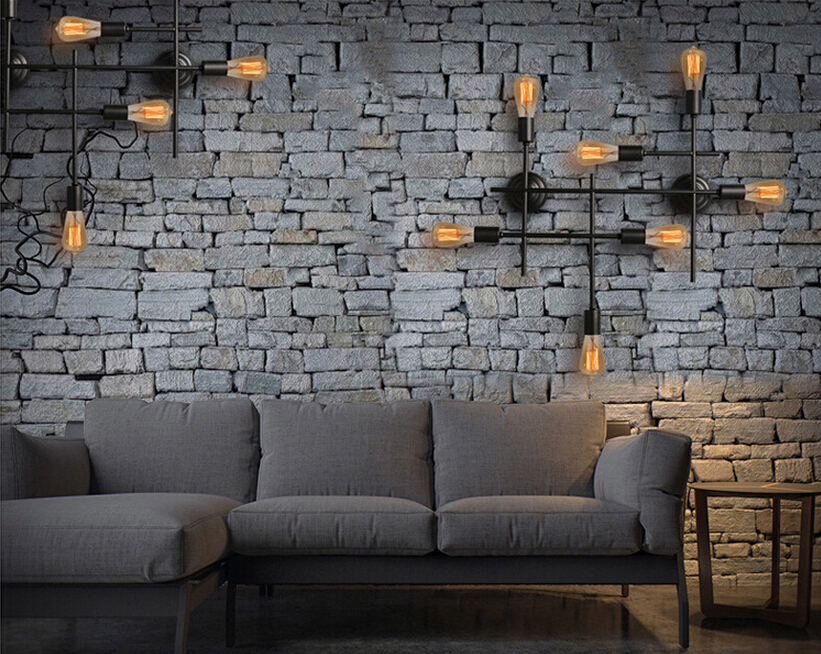 Vintage loft industrial wall lamps creative bar coffee shop wall vintage loft industrial wall lamps creative bar coffee shop wall lights living room antique wall sconces in wall lamps from lights lighting on aloadofball Choice Image