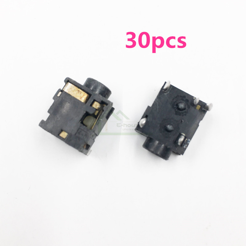 E house 30pcs Original Used headset Jack Connector Port for Gameboy Advance GBA Game Console Earphone
