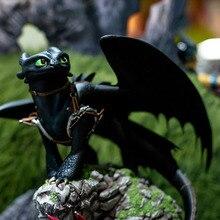 Como treinar seu dragão toothless figura brinquedo presente criança