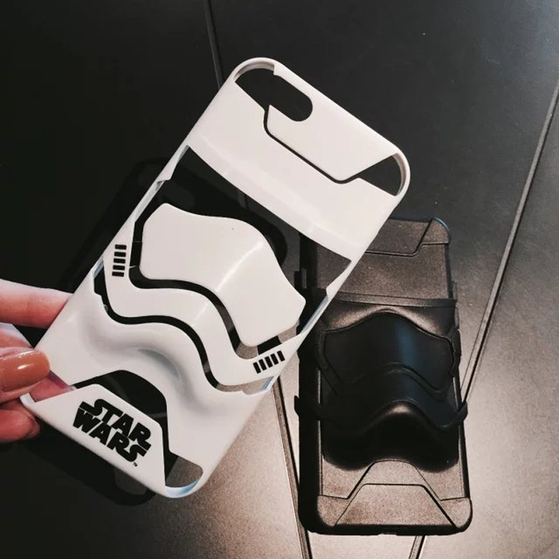 brand new 54150 ceeca US $4.98 |3D Star Wars Stormtrooper Case For Coque iPhone 6 6S 6plus 6s  Plus 7 7 Plus 8 Funda Capinha 2 In 1 Plastic Back Hard Cases Cover-in  Fitted ...