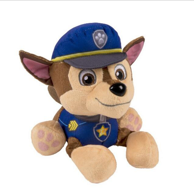 High quality Shepherd Super agent Chase Toy doll dog Plush toys for baby 20cm Soft bauble birthday present&children's gift 1pcs 22cm fluffy plush toys white eyebrows cute dog doll sucker pendant super soft dogs plush toy boy girl children gift