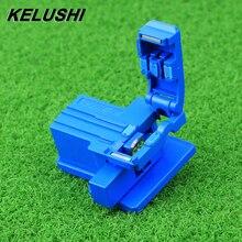 KELUSHI FTTH MINI Optical Cleaver ABSขนาดเล็กความแม่นยำสูงเครื่องตัดไฟเบอร์สายเย็นการเชื่อมต่อตัดเครื่องมือ
