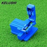 Kelushi FTTH мини оптический волоконный Кливер ABS Небольшие Ценные волокна резка кабеля холодного соединения резак инструмент