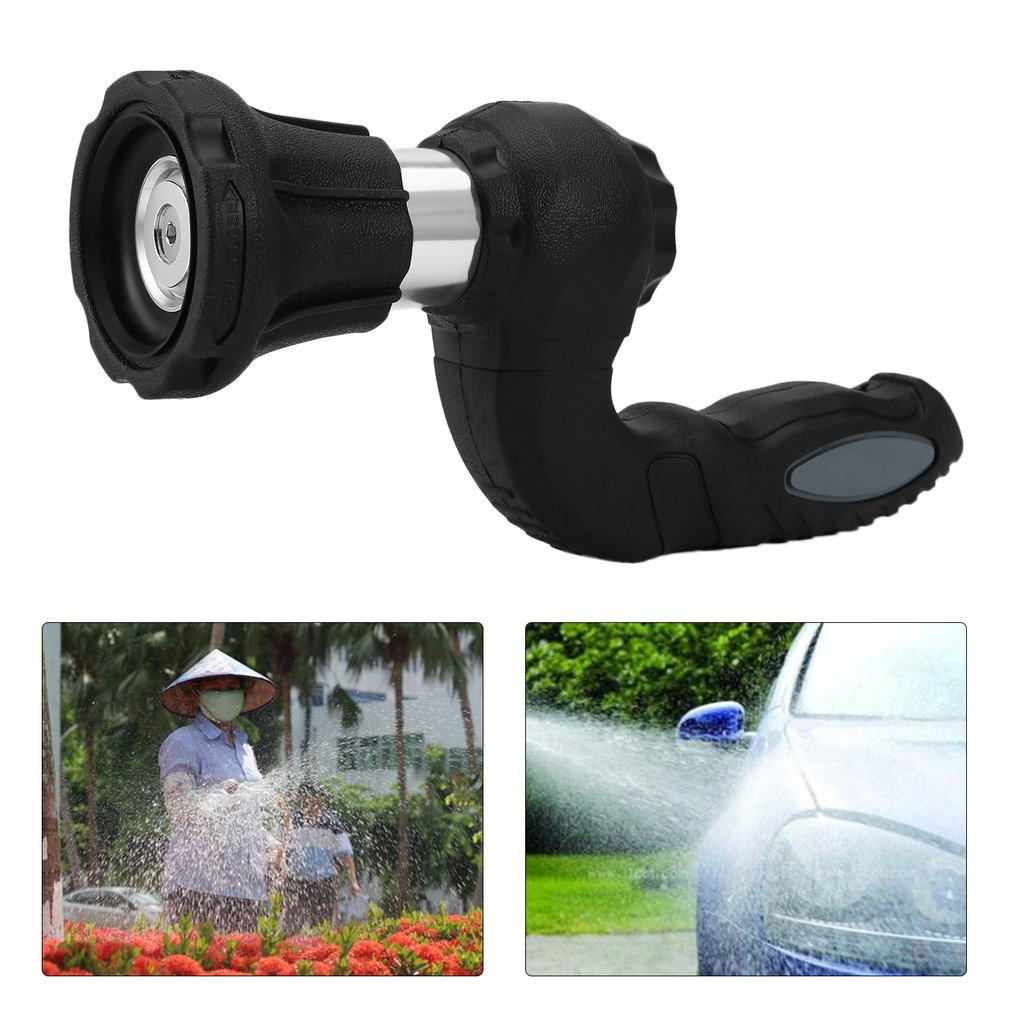 Mighty Power Hose Blaster Fireman Nozzle Lawn Garden Super Powerful Home Original Car Washing by BulbHead Wash Water Your Lawn-in Garden Water Guns from Home & Garden