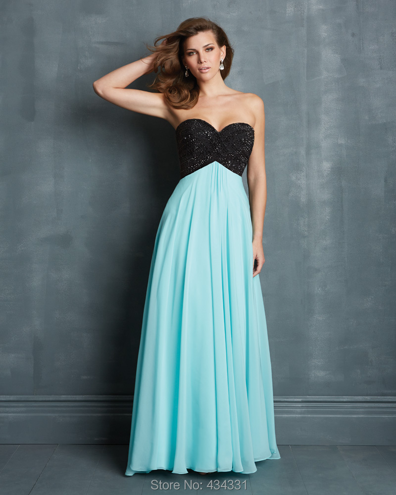Black dress for prom night - Online Shop 2015 Multi Colors Sexy Backless Evening Gowns Black Lace Sky Blue Chiffon Long Prom Dresses Aliexpress Mobile