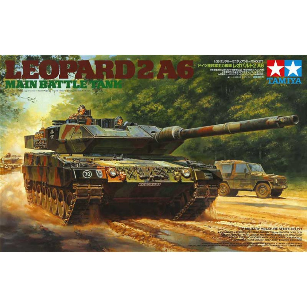 OHS Tamiya 35271 1/35 Leopard 2 A6 Main Battle Tank Assembly AFV Model Building Kits oh ohs tamiya 35326 1 35 u s main battle tank m1a2 sep abrams tusk ii military assembly afv model building kits