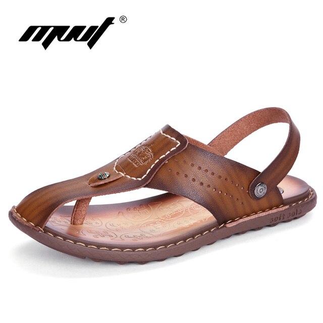Skid résistance chausse sandalettes simple d'homme wXKpsc
