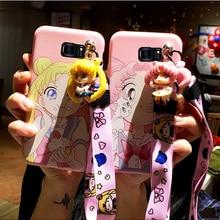 SAM S10 plus Cute 3D Sailor Moon phone case For Sam