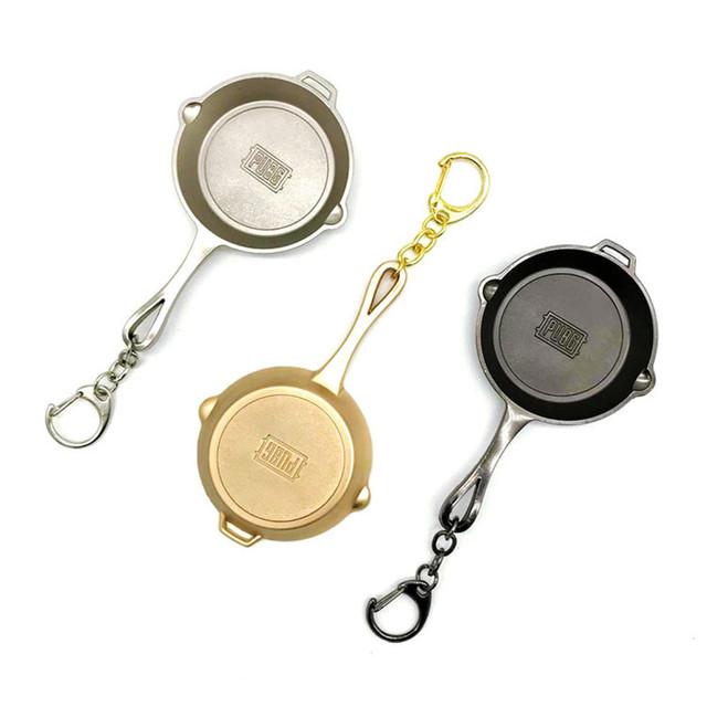 PUBG Playerunknown's Battlegrounds Keychain Pans Model