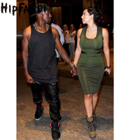 New Kanye West Hip Hop Big And Tall Fashion Zippers Jogers Pant Men Black Joggers Dance