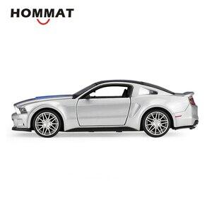 Image 4 - HOMMATจำลองMaisto 1:24 2014 Ford Mustang Street Racerรุ่นรถDiecast Toyรถสะสม