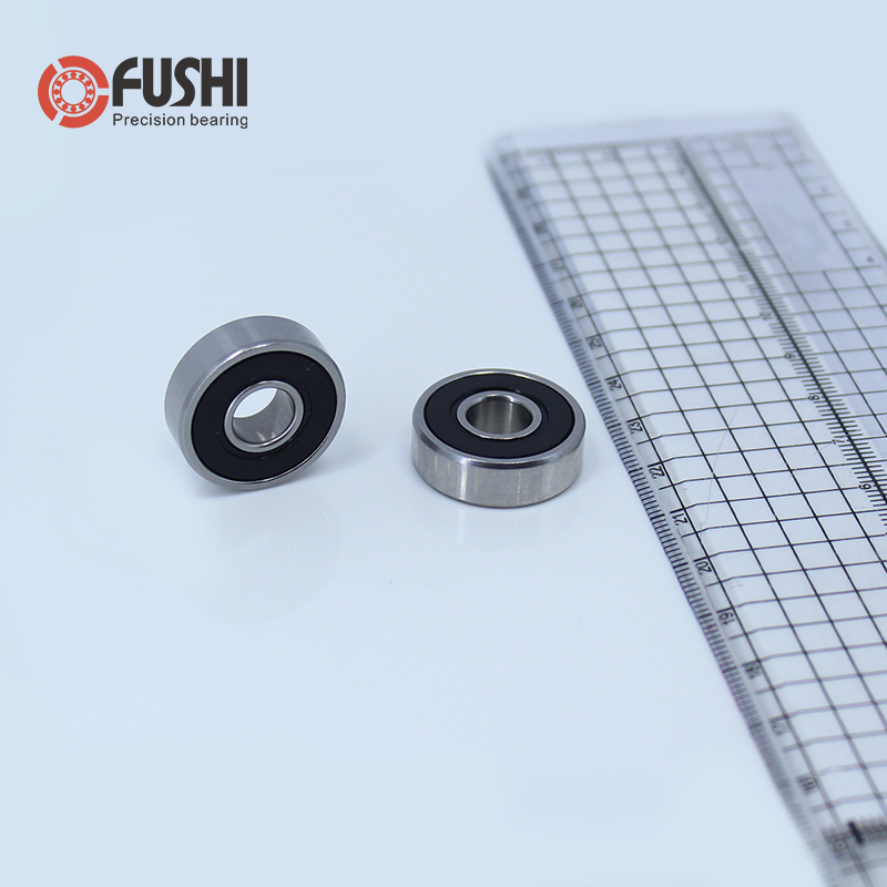 608RS Bearing 8*22*7 mm ( 10 PCS ) ABEC-5 Skateboard Scooter 608 2RS Ball Bearing Miniature Skate Roller 608-2RS 608 RS Bearings все цены