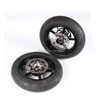 Высокое качество Внедорожные измененные Аксессуары для мотоцикла 12 дюймовый в целом для центрального движения колеса в сборе с дисковым то