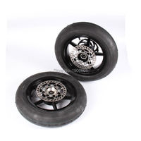 high quality Off road motorcycle modified accessories 12 inch overall wheel hub assembly with brake disc sprocket