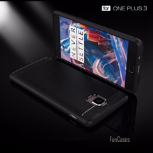 2017 NEW Brushed Silicone Phone Case For Oneplus