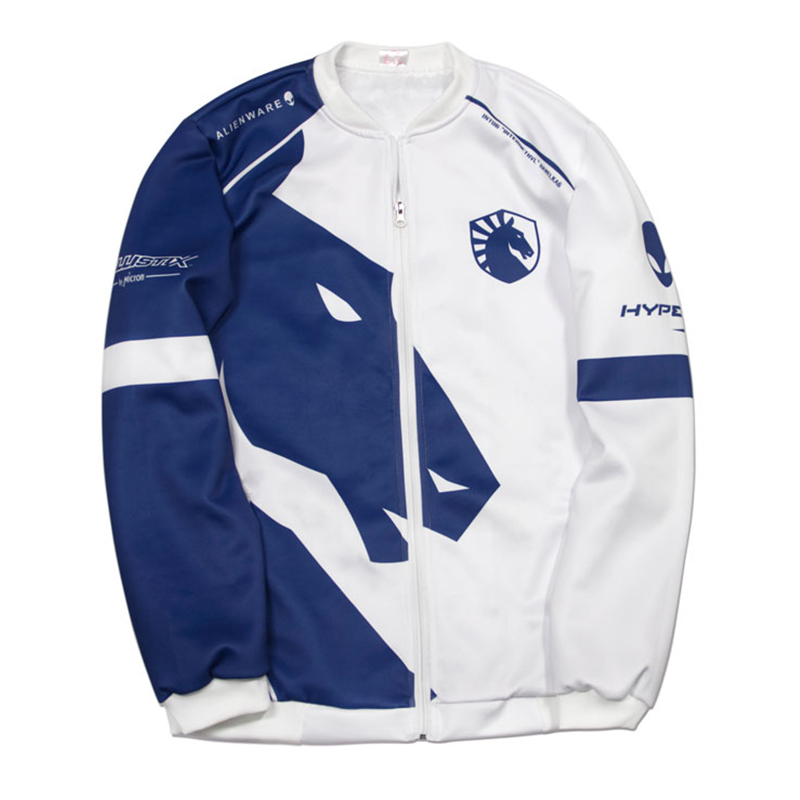 Image 1 - Top quality Custom ID Team Liquid Hoodies Men O neck Long Sleeve Streetwear Casual Sweat Homme Mens Hoodie Sweatshirt-in Hoodies & Sweatshirts from Men's Clothing