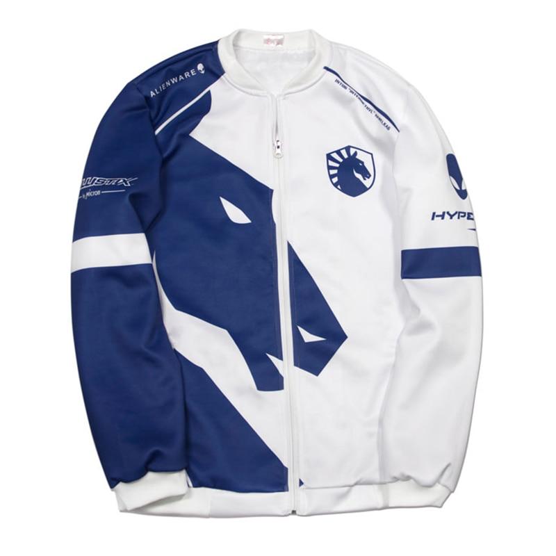 Tsingyi Custom ID Team Liquid Hoodies Men O neck Long Sleeve Streetwear Casual Sweat Homme Mens Hoodie Sweatshirt