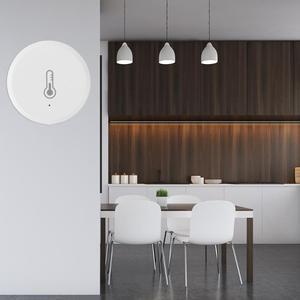 Image 2 - 新しい温度と湿度センサー警報システムデバイス amazon の Alexa 温度と湿度検出器ホームセキュリティ小道具