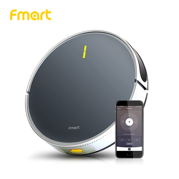 Fmart Robot Vacuum Cleaner App WIFI Control B66 Smart Control Application Planned Sweeping and Wet Cleaning High suction wet dry